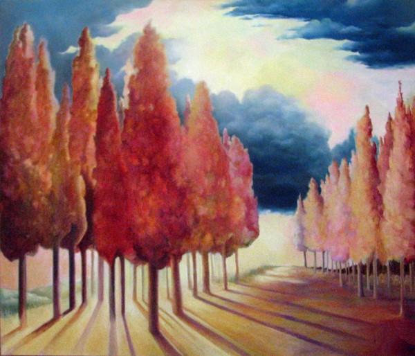 Daybreak Trees